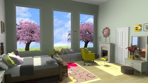 house just for me bedroom - Bedroom - by alliesmiley