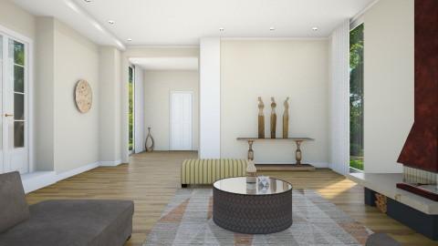 Sophia Sepia - Minimal - Living room  - by mclaraop
