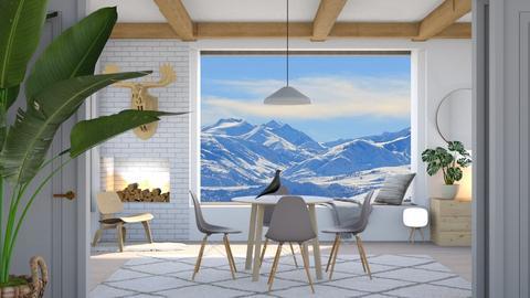 scandinavian dining - by Esko123