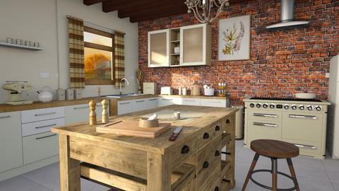 Kitchen in autumn - Kitchen  - by ginamelia22