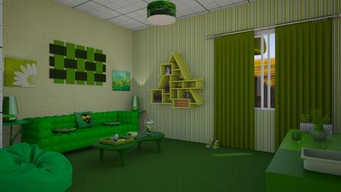 green - Living room - by joanneonline