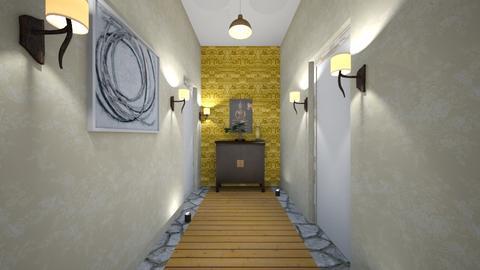 hallway - by cxmichelle