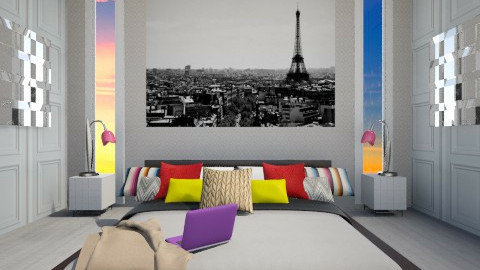 La Parisienne  - Modern - Bedroom - by The Little World Of Jade