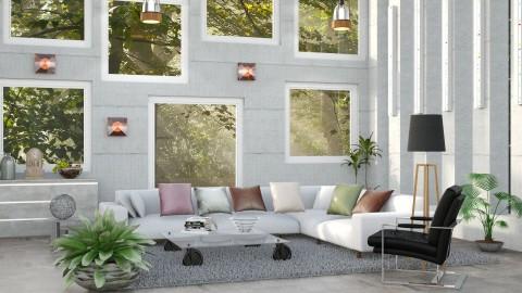 M _Bright - Modern - Living room  - by milyca8