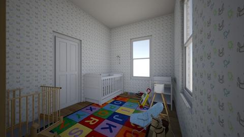 Baby Boy Nursery - Kids room - by Romystical