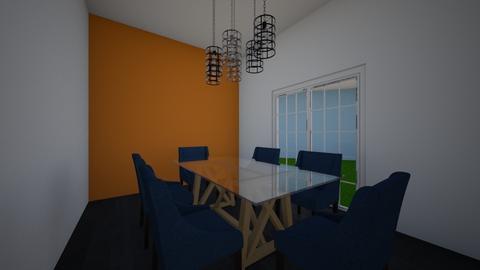 Urban dining room - Modern - Dining room - by Boba Boba Teaaaaaaa