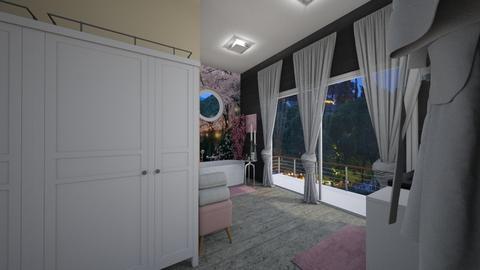 Cherry Blossom Bathroom 0 - Global - Bathroom  - by decordiva1