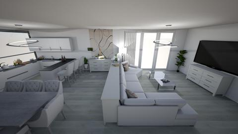 bright kitchen 2 - Modern - Kitchen  - by kantorjanos