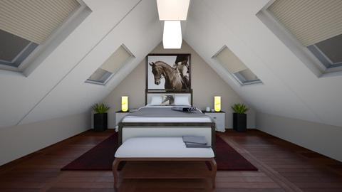 Country side attic - Bedroom  - by Puppylover5673