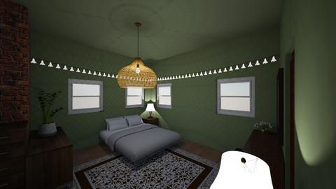 Mock up 3 final project - Bedroom  - by beana03