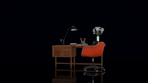 Vintage desk - Vintage - Office  - by HenkRetro1960