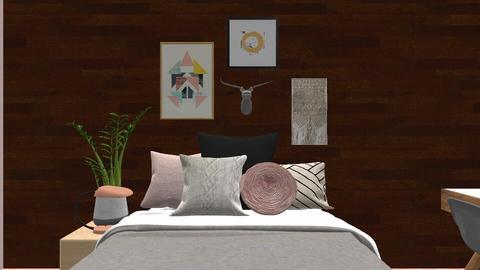 Modern Bedroom - Bedroom  - by Leire08