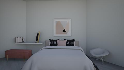 stacey - Modern - Bedroom  - by MillieBB_fan