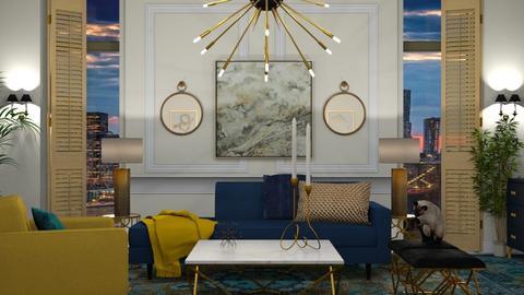 Art Deco Living - by sarah4368