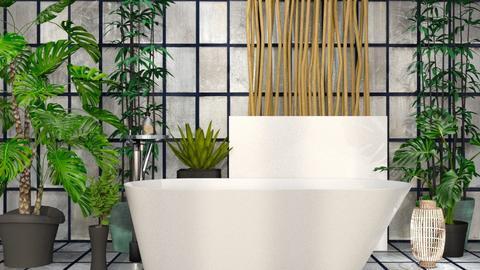 p L a N t S - Bathroom  - by ashenswan
