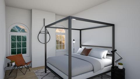 Urban Bedroom  - Masculine - Bedroom  - by milk07Designs