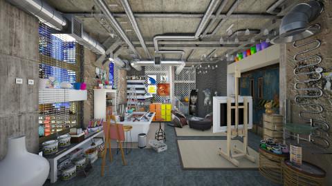 art studio  - Eclectic - by Ida Dzanovic