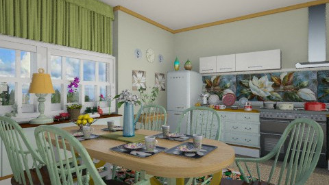 Magnolia - Kitchen  - by milyca8