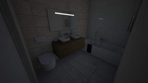 AZZABI - Minimal - Bathroom  - by imenelaab