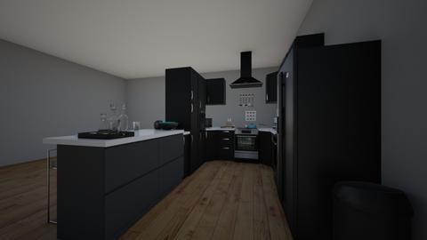 dream kitchen 01 - Modern - Kitchen - by dindayudvina