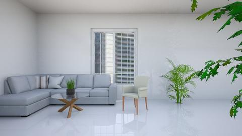 Pure white - Modern - Living room  - by rivka1