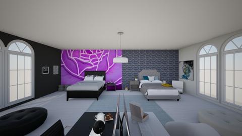 TWin - Bedroom  - by Chayjerad
