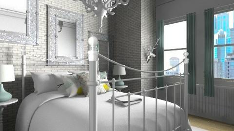 Bedroom in the City - Minimal - Bedroom  - by Hope42