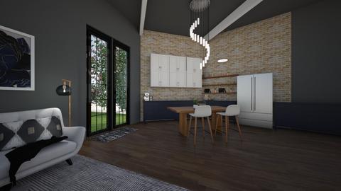 modernn - Kitchen - by agtdesigns2003