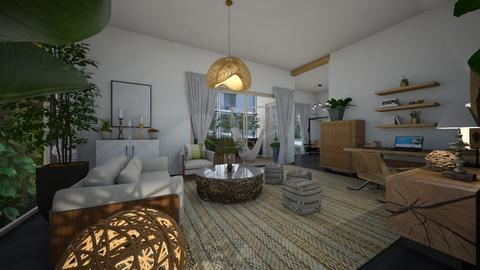 Nature_living room2 - Kitchen  - by lovasemoke