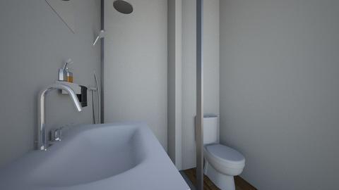 bathroom  - Minimal - Bathroom  - by Malagatica