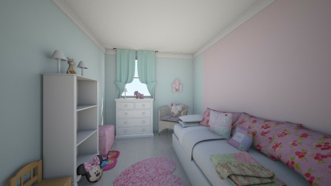 Cuarto de Victoria - Glamour - Kids room  - by Abaco