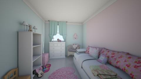 Cuarto de Victoria - Glamour - Kids room - by Abaco