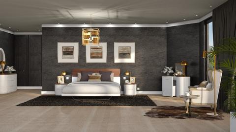 483 - Modern - Bedroom  - by Claudia Correia