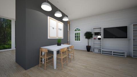 Scandinavian dining room - Dining room  - by Miriam09