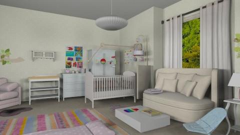 nursery 1 - Kids room  - by apostolia79