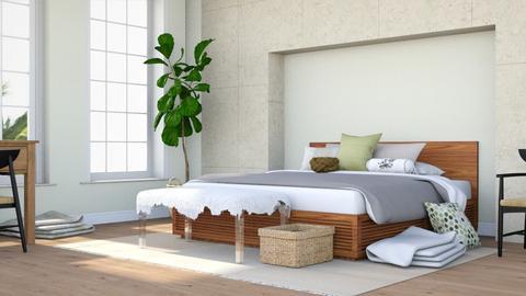 Coastal Getaway - Minimal - Bedroom  - by millerfam