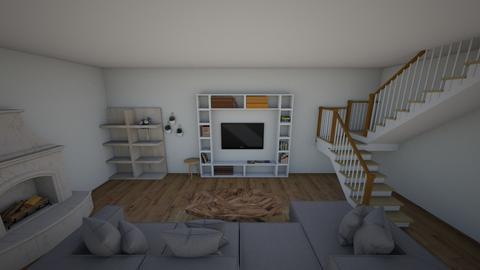 sala de estar - Modern - Living room  - by Antonela Aldana