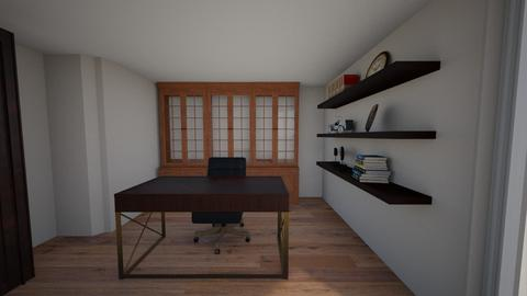Kruger Condo - Eclectic - Office  - by ryahnke05