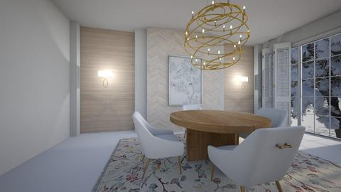 escandinavo - Dining room  - by ana111
