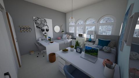 Dorm room - by Chayjerad