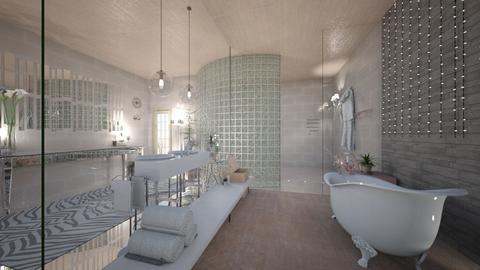 Eclectic bathroom 2 - Eclectic - Bathroom  - by tieganclayton