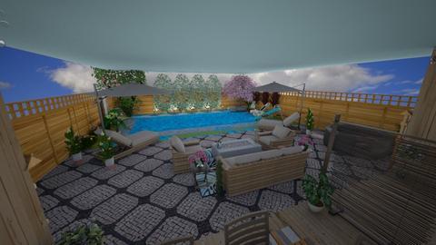 Beautiful Backyard - Garden  - by LSDESIGNS
