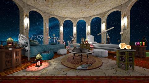 Night Sky Bedroom2 - Bedroom  - by deleted_1630939867_Woodsmoke22