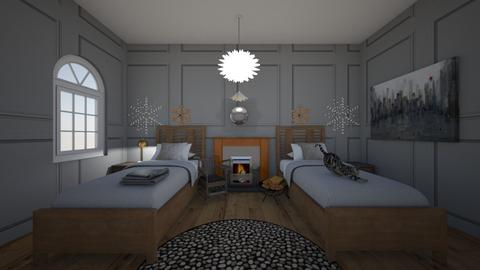 winter bedroom contest - Bedroom - by emilyhausmann01