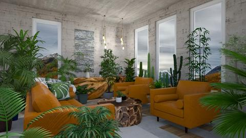 not so urban jungle - Living room  - by kisi mja