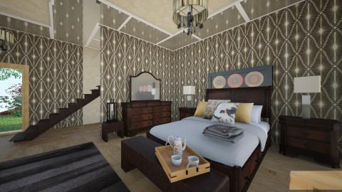 HajDi - Rustic - Bedroom  - by Saj Trinaest