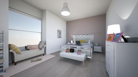 adams bedroom - by hannahlaing