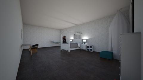 Girls Bedroom - Feminine - Kids room  - by AB0622
