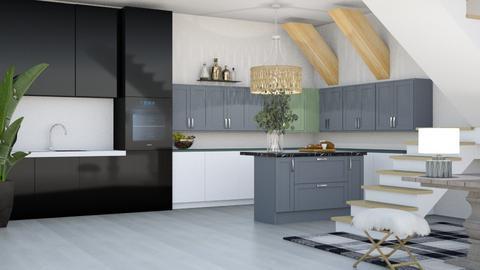 Modern Kitchen - Modern - Kitchen  - by kiwimelon711