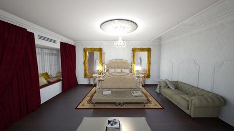 room imperial - Classic - Bedroom  - by Keilla